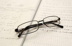 φυσική γυαλιών στοκ εικόνες με δικαίωμα ελεύθερης χρήσης