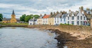 Φυσική θέα σε Anstruther ένα θερινό απόγευμα, Fife, Σκωτία Στοκ Εικόνες