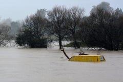 Φυσική καταστροφή - πλημμύρα Στοκ Φωτογραφία