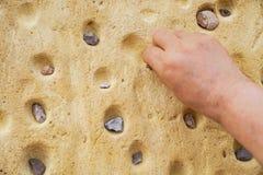 Φυσική μικρή πέτρα πετρών στοκ φωτογραφία με δικαίωμα ελεύθερης χρήσης