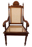 Φυσική ξύλινη καρέκλα στοκ φωτογραφίες με δικαίωμα ελεύθερης χρήσης