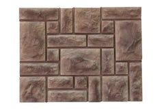 Φυσική πέτρα στον τοίχο Στοκ Εικόνα