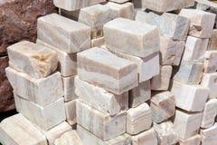 Φυσική πέτρα onyx Στοκ Φωτογραφίες