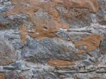 Φυσική πέτρινη σύσταση για το υπόβαθρο Τοίχος που χτίζεται πέτρινος από Στοκ εικόνα με δικαίωμα ελεύθερης χρήσης