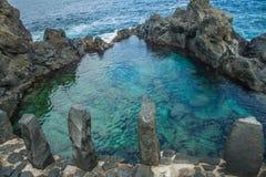 Φυσική πισίνα Charco de Λα Laja Στοκ Εικόνες