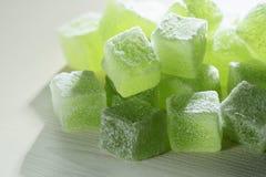 Φυσική πράσινη μαρμελάδα Στοκ Εικόνες