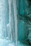 Φυσική σπηλιά πάγου Στοκ εικόνα με δικαίωμα ελεύθερης χρήσης