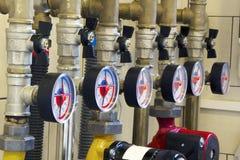 φυσική σωλήνωση αερίου Στοκ φωτογραφία με δικαίωμα ελεύθερης χρήσης
