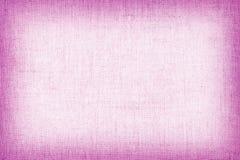 Φυσική σύσταση λινού για το υπόβαθρο, ρόδινο χρώμα Στοκ φωτογραφία με δικαίωμα ελεύθερης χρήσης