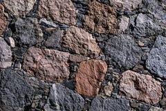 φυσική σύσταση πετρών Χρώμα Στοκ Φωτογραφία