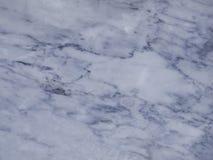 Φυσική σύσταση του άσπρου γκρίζου μαρμάρινου ομαλού υποβάθρου επιπέδων Στοκ Εικόνες
