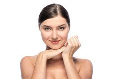 Φυσική τελειότητα - όμορφη νέα γυναίκα, Στοκ Εικόνα