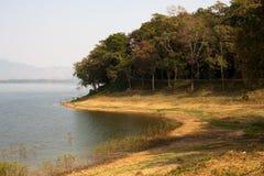 Φυσική τοπική λίμνη Bangpra Chonburi Ταϊλάνδη Στοκ εικόνες με δικαίωμα ελεύθερης χρήσης