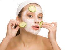Φυσική φροντίδα δέρματος στοκ φωτογραφία με δικαίωμα ελεύθερης χρήσης
