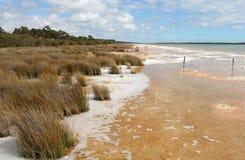 Φυσική όψη της δύσης Aust του Clifton λιμνών. Στοκ φωτογραφία με δικαίωμα ελεύθερης χρήσης