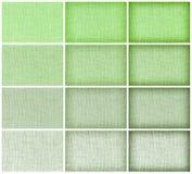 Φυσική sackcloth συλλογής σύσταση για το υπόβαθρο, πράσινο colou Στοκ Εικόνες