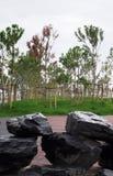 Φυσικοί βράχοι πλακών Στοκ φωτογραφία με δικαίωμα ελεύθερης χρήσης