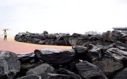 Φυσικοί βράχοι πλακών Στοκ εικόνα με δικαίωμα ελεύθερης χρήσης