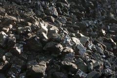 Φυσικοί μαύροι άνθρακες Για το υπόβαθρο Βιομηχανικοί άνθρακες Στοκ φωτογραφία με δικαίωμα ελεύθερης χρήσης