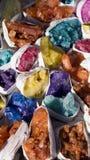 Φυσικοί πολύτιμοι λίθοι Στοκ εικόνα με δικαίωμα ελεύθερης χρήσης