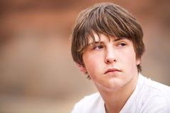 φυσικός έφηβος πορτρέτου Στοκ Φωτογραφίες