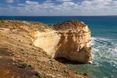 Φυσικός απότομος βράχος στη Νότια Νέα Ουαλία Στοκ Εικόνες