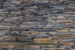 Φυσικός γκρίζος τοίχος πετρών Στοκ εικόνες με δικαίωμα ελεύθερης χρήσης