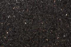 Φυσικός μαύρος πρόσθετος, μαύρος γρανίτης γαλαξιών αστεριών πετρών, λαμπρά μόρια Στοκ φωτογραφίες με δικαίωμα ελεύθερης χρήσης