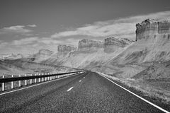 Φυσικός ορεινός δρόμος, ΗΠΑ Στοκ εικόνα με δικαίωμα ελεύθερης χρήσης