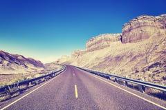 Φυσικός ορεινός δρόμος, ΗΠΑ Στοκ φωτογραφία με δικαίωμα ελεύθερης χρήσης