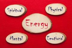 Φυσικός, συναισθηματικός, διανοητικός και πνευματικός στοκ εικόνες με δικαίωμα ελεύθερης χρήσης