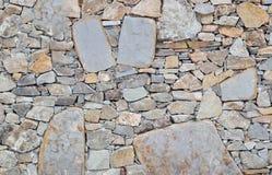 φυσικός τοίχος πετρών ανα& Στοκ Φωτογραφία