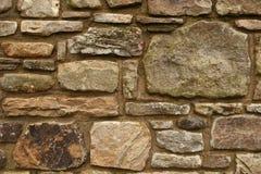 φυσικός τοίχος πετρών Στοκ Εικόνες