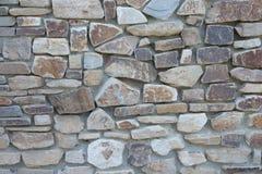 φυσικός τραχύς τοίχος σύσ& Στοκ Εικόνες