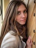 Φυσικός όμορφος πορτρέτου γυναικών στοκ εικόνα με δικαίωμα ελεύθερης χρήσης