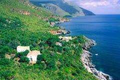 φυσικός zingaro της Σικελίας &epsi Στοκ Εικόνες