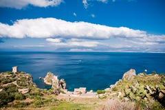 φυσικός zingaro της Σικελίας &epsi Στοκ φωτογραφία με δικαίωμα ελεύθερης χρήσης