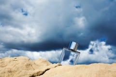 Φυσικό άρωμα σε ένα υπόβαθρο μπλε ουρανού Στοκ εικόνα με δικαίωμα ελεύθερης χρήσης
