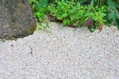 Φυσικό αμμοχάλικο backrgound στοκ εικόνες