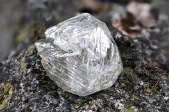 Φυσικό διαμάντι στοκ εικόνες με δικαίωμα ελεύθερης χρήσης