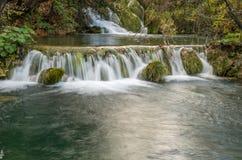 Φυσικό εθνικό πάρκο λιμνών Plitvice στην Κροατία Στοκ Φωτογραφία
