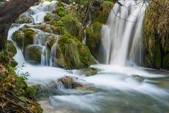 Φυσικό εθνικό πάρκο λιμνών Plitvice στην Κροατία Στοκ Εικόνα