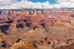 Φυσικό εθνικό πάρκο φαραγγιών άποψης μεγάλο, Αριζόνα, ΗΠΑ Ηλιόλουστη ημέρα τοπίων πανοράματος με το μπλε ουρανό Στοκ εικόνα με δικαίωμα ελεύθερης χρήσης