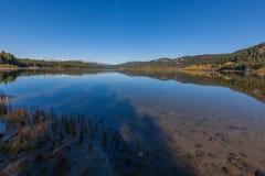 Φυσικό εθνικό πάρκο Teton λιμνών δύο ωκεανών Στοκ εικόνα με δικαίωμα ελεύθερης χρήσης