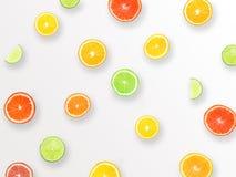 Φυσικό ζωηρόχρωμο υπόβαθρο σχεδίων φιαγμένο από εσπεριδοειδή πορτοκαλιά Στοκ Εικόνες