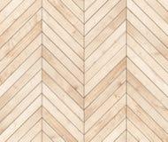 Φυσικό καφετί ξύλινο ψαροκόκκαλο παρκέ Ξύλινη σύσταση στοκ εικόνα με δικαίωμα ελεύθερης χρήσης