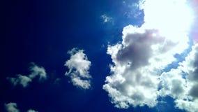 φυσικό καλοκαίρι ουρανών σχεδίου ανασκόπησης Στοκ εικόνα με δικαίωμα ελεύθερης χρήσης
