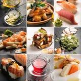 Φυσικό κολάζ τροφίμων Στοκ εικόνα με δικαίωμα ελεύθερης χρήσης