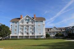 Φυσικό κτήριο ξενοδοχείων λεσχών παραλιών της Disney άποψης Στοκ εικόνες με δικαίωμα ελεύθερης χρήσης