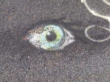 Φυσικό μάτι στοκ εικόνα με δικαίωμα ελεύθερης χρήσης